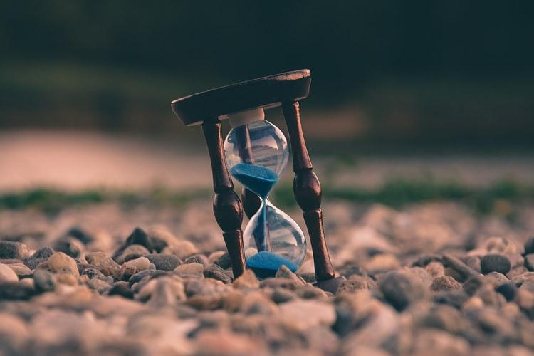 a sand timer