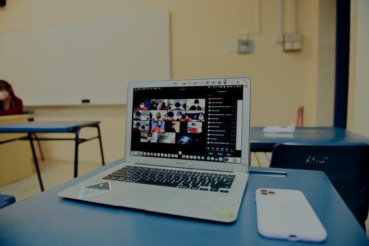 Screenshot of a virtual meeting new company culture